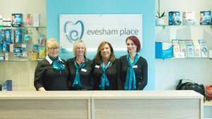 Evesham Place Dental Stratford-upon-Avon Reception
