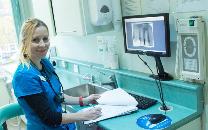 Evesham Place Dental Stratford-upon-Avon - katharine paperwork