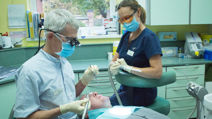 Evesham Place Dental Stratford-upon-Avon - Andrew and nurse