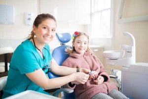 Childrens dentistry with izzy