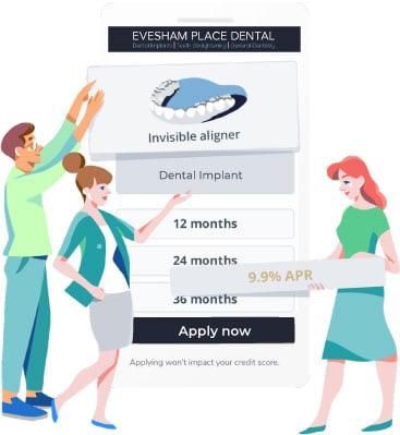 Evesham Place Dental Implant finance