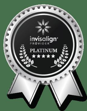 Invisalign Elmet, award, level, platinum provider